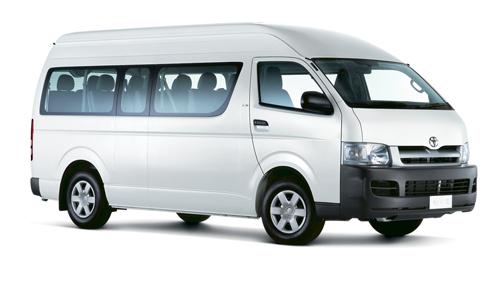 Thuê xe du lịch 16 chỗ Toyota Hiace